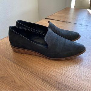 Kelsi Dagger Brooklyn | Abbi Wedge Loafer in Black
